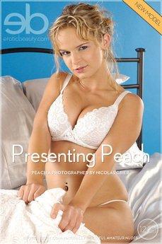 Presenting Peach