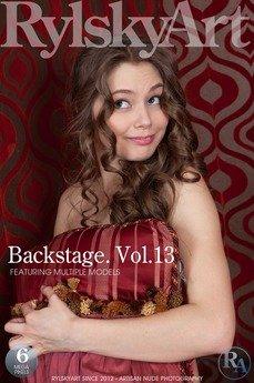 Backstage. Vol.13