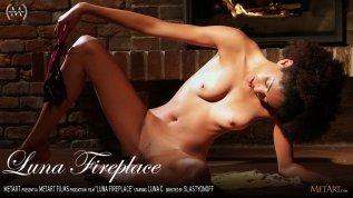 Luna Fireplace