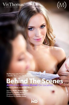 Behind The Scenes: Aislin & Shrima Malati On Location
