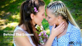 Behind The Scenes: Emylia Argan and Lola A On Location