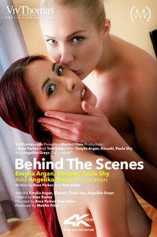 Behind The Scenes: Emylia Argan, Kinuski, Paula Shy, Angelika Greys On Location