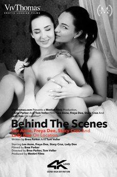 Behind The Scenes: Lee Anne, Freya Dee, Stacy Cruz & Lady Dee On Location