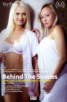 Behind The Scenes: Lena Love & Naomi Nevena on Location
