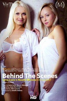Behind The Scenes: Lena Love & Naomi Nevena on Location