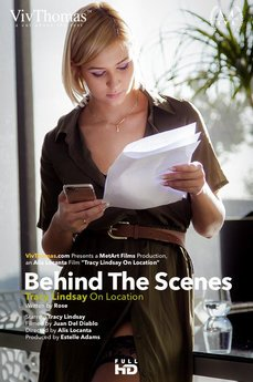 Behind The Scenes: Tracy Lindsay On Location
