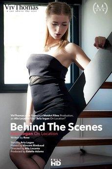 Behind The Scenes: Aria Logan On Location