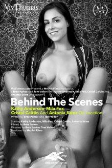 Behind The Scenes: Kathy Anderson, Mila Fox, Cristal Caitlin & Antonia Sainz On Location