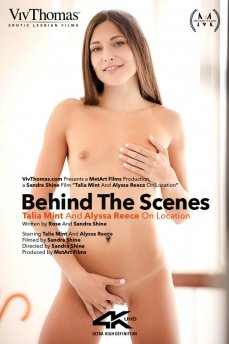 Behind The Scenes: Talia Mint And Alyssa Reece On Location