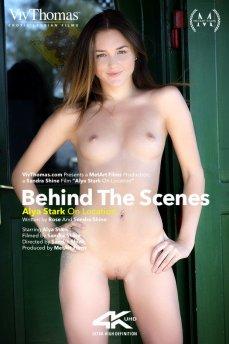 Behind The Scenes: Alya Stark On Location